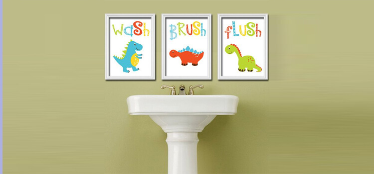 amazing bathroom polaroids | 10 Amazing Bathroom Ideas That Your Kids Will Love ...