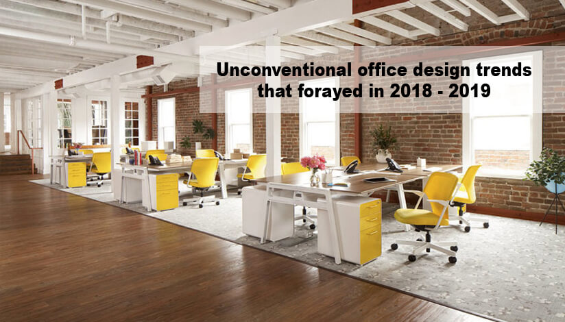 Office Design Trends: Unconventional Office Design Trends That Forayed In 2018